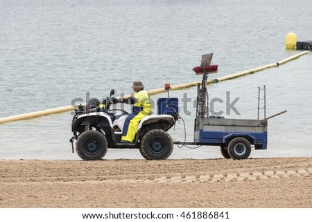 BEACH CLEANER , BEACH CLEANING