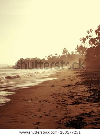 Beach Coastline - stock photo
