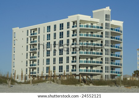 Beach Condo in Florida - stock photo