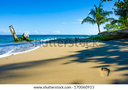 Beach Costa Rica - stock photo