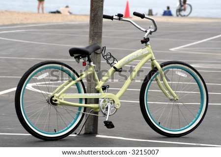 beach cruiser - stock photo