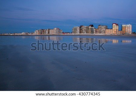 Beach in Belgium, Knokke.