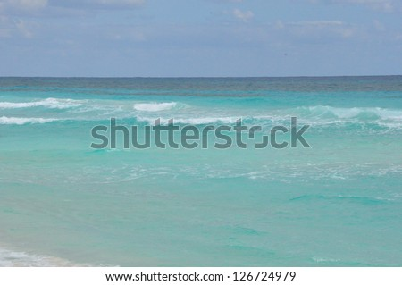 Beach in Cozumel, Mexico