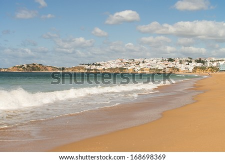 Beach in Portugal in the Algarve / Beach