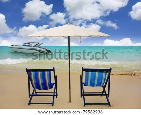 Beach in Summertime