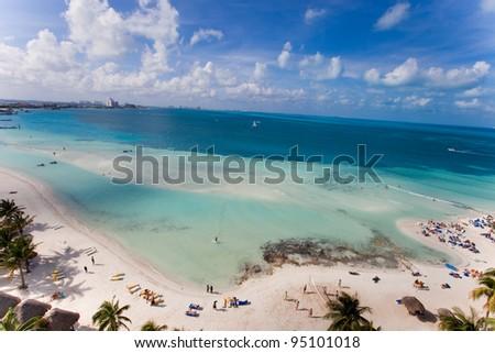 Beach, Mexico - stock photo