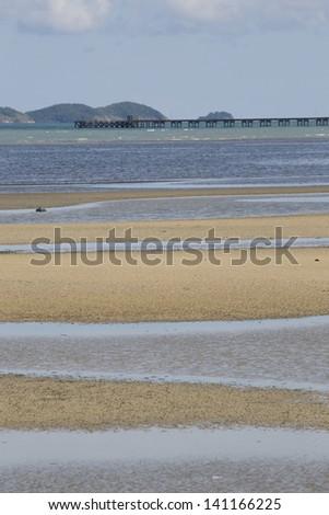beach of samed Island,Thailand - stock photo