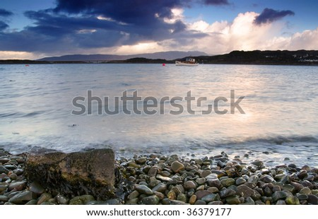 beach on isle of skye