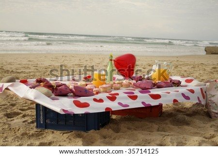 Beach Party - stock photo