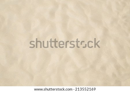 Beach sand as background - stock photo