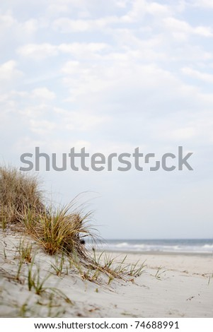 beach scenic - stock photo
