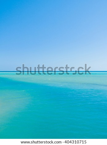 Beach Seascape  - stock photo