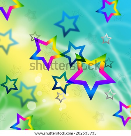 Beach Stars Background Meaning Shining In Sky