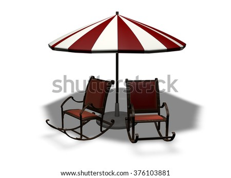 Beach summer umbrella