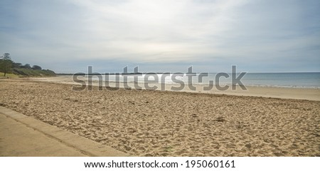 Beach View in Great Ocean Road, Melbourne, Australia - stock photo