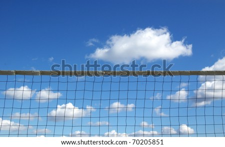 BEACH VOLLEY3 - stock photo
