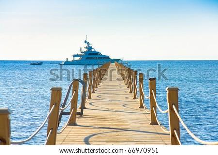 Beach Way Paradise - stock photo