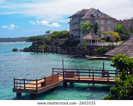beachhouse - stock photo