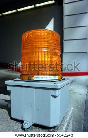 Beacon emergency light - stock photo