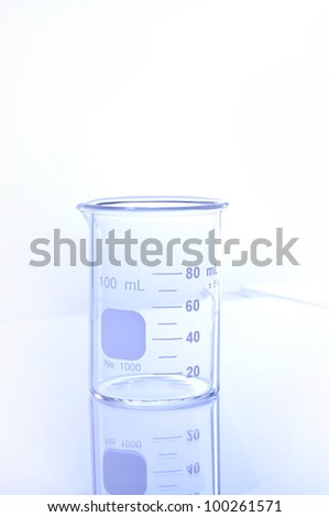 beaker for chemical science use in laboratory.