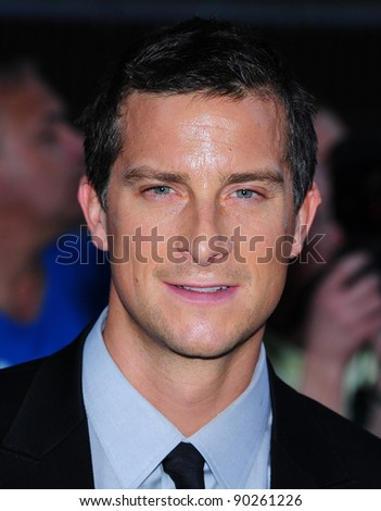 Bear Grylls arriving for the 2011 Pride Of Britain Awards, at the Grosvenor House Hotel, London. 04/10/2011 Picture by: Simon Burchell / Featureflash - stock photo