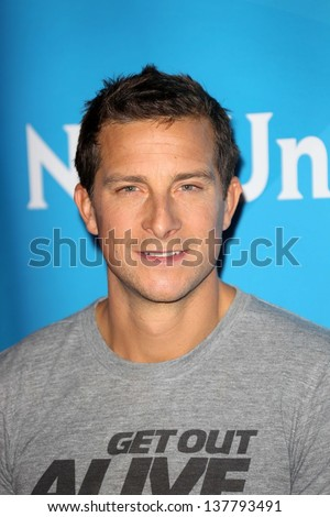 Bear Grylls at the 2013 NBC Universal Summer Press Day , Langham Huntington Hotel, Pasadena, CA 04-22-13 - stock photo