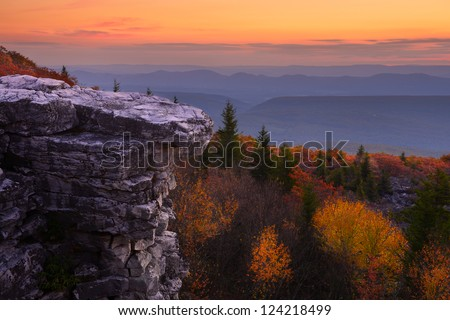 Bear Rocks Preserve - stock photo