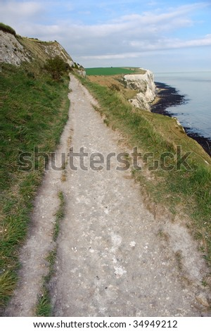 Beaten Path - stock photo