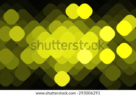 beautiful abstract background gold bokeh circles. Christmas background. - stock photo