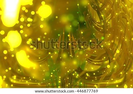 beautiful abstract background gold bokeh circles. Christmas background.