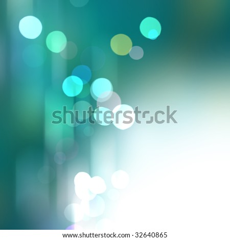 Beautiful abstract background of holiday lights - stock photo