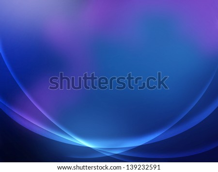 Beautiful Abstract Blue Background - stock photo