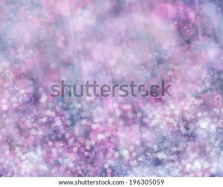 Beautiful abstract bokeh background of holiday Claret, Purple cyan lights - stock photo