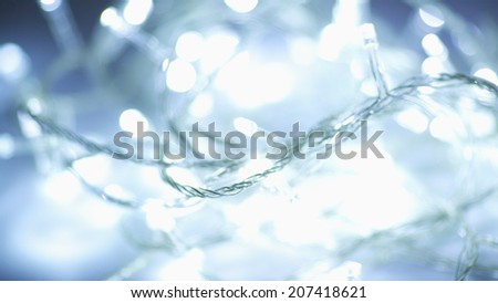 beautiful abstract bokeh background, with defocused lights - stock photo
