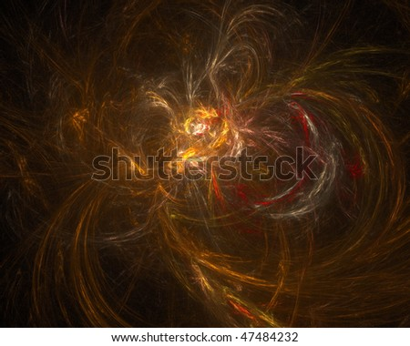 beautiful abstract color background, the cosmic fractal