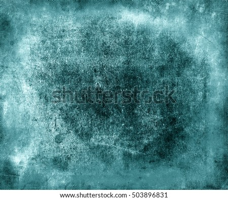 Beautiful abstract old blue paper texture background