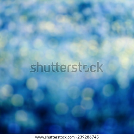 Beautiful Abstract spring background with de focused bokeh lights. Spring or summer abstract nature background  - stock photo