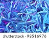 Beautiful abstract texture of the foil as background for design - stock photo