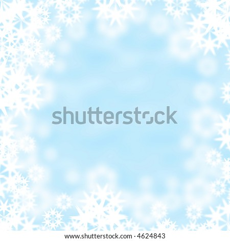 beautiful abstract vector winter background