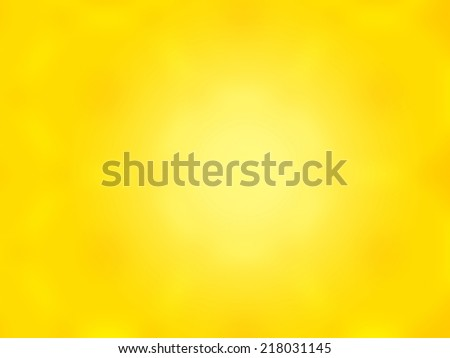 Beautiful abstract yellow blurred background - stock photo