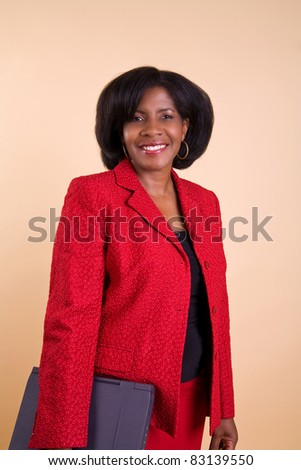 Beautiful African American Businesswoman