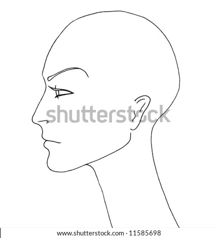Fashion Manikin Drawing Androgynous Mannequin