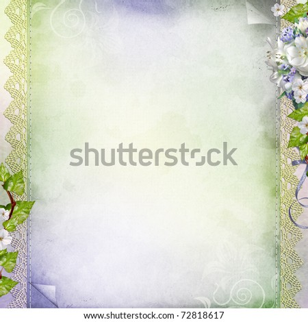 Computer Designed Highly Detailed Grunge Abstract Stock