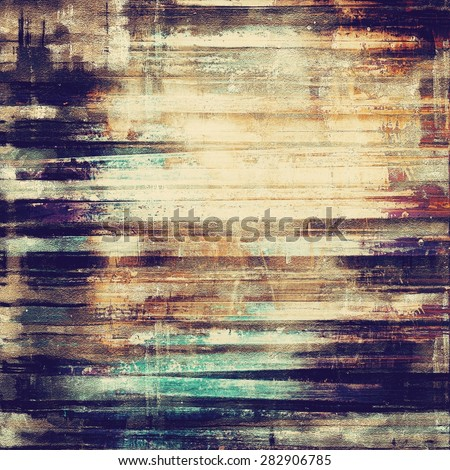 Beautiful antique vintage background. With different color patterns: yellow (beige); brown; gray; purple (violet) - stock photo