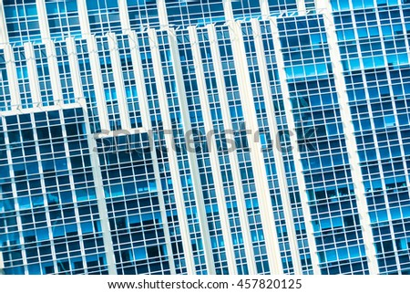Beautiful architecture window building pattern for background