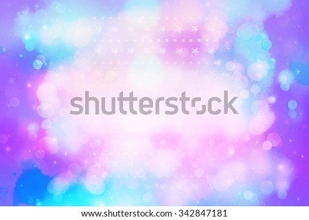 Beautiful artistic background with bokeh lights - stock photo