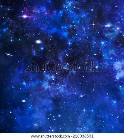 beautiful background of the night - stock photo