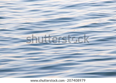 beautiful background of the water surface