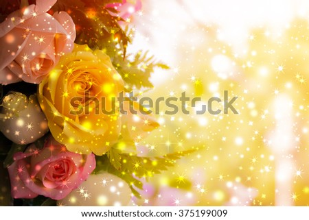 beautiful background with flowers roses, valentine background, flowers background