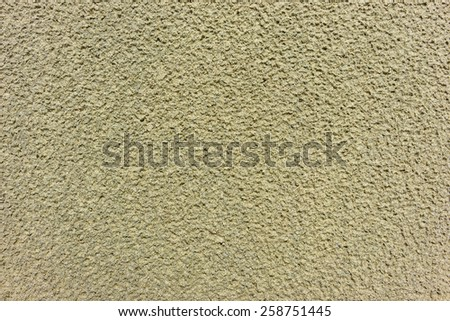 Beautiful background with sand after the raining - stock photo